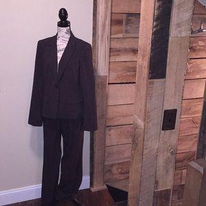 Banana Republic brown suit. Size 12
